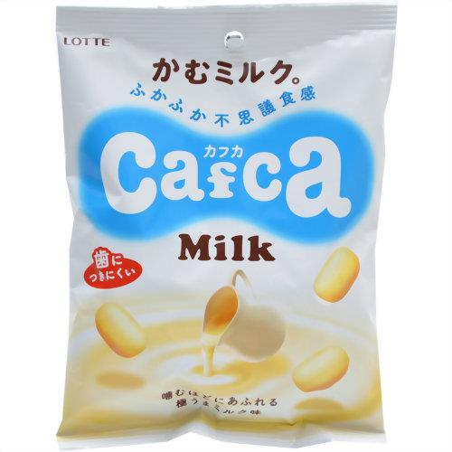 Lotte Cafca milk